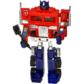 Vintage Hasbro G1 Transformers (Generation 1) and G2 Transformers (Generation 2) action figures
