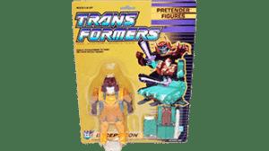 Transformers 1989 G1 Pretender Bludgeon MOSC