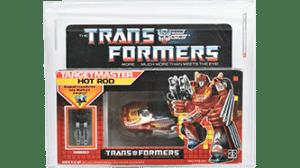 Transformers 1987 G1 Hot Rod Targetmaster AFA