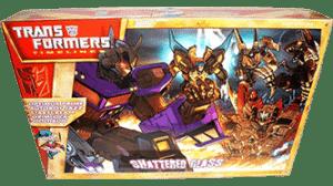 Transformers 2008 Botcon Shattered Glass MIB