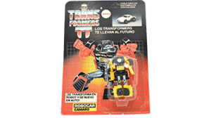 Transformers 1985 G1 Camero MOSC