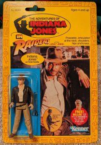 Kenner's Indiana Jones 1982 toy
