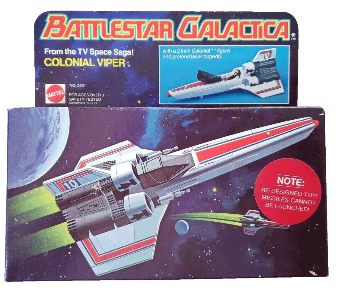 Battlestar Galactica Used Toys
