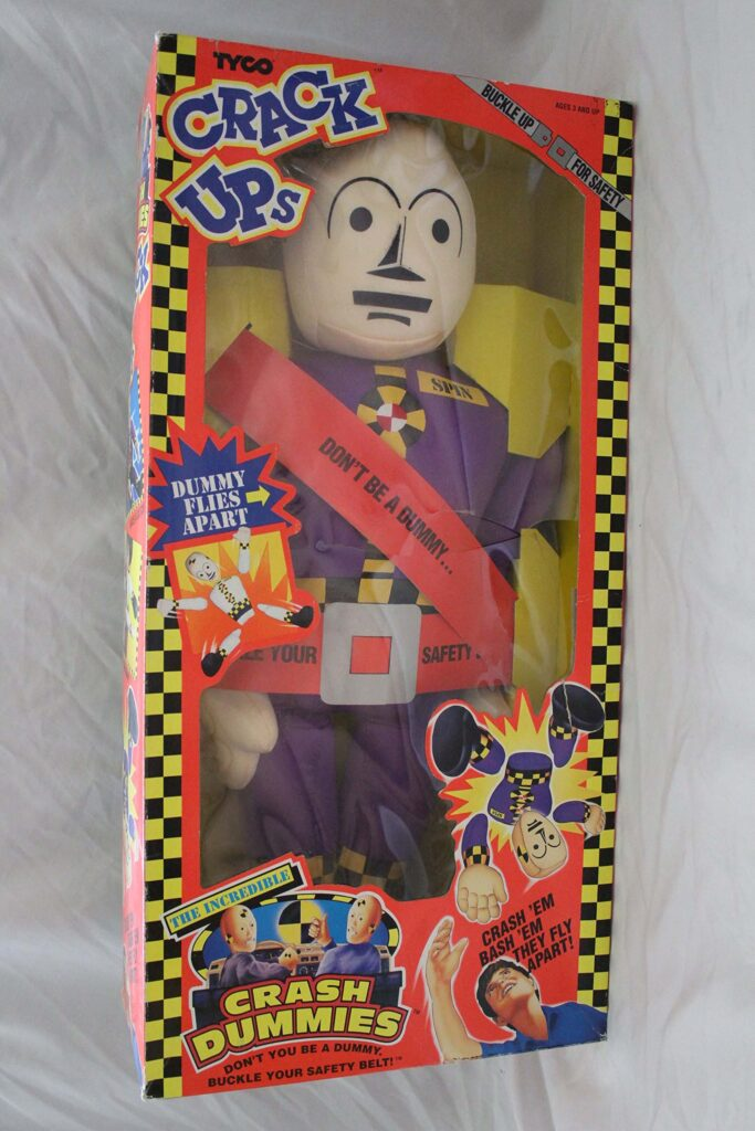 Tyco's The Incredible Crash Dummies Crack Ups Spin (1992)
