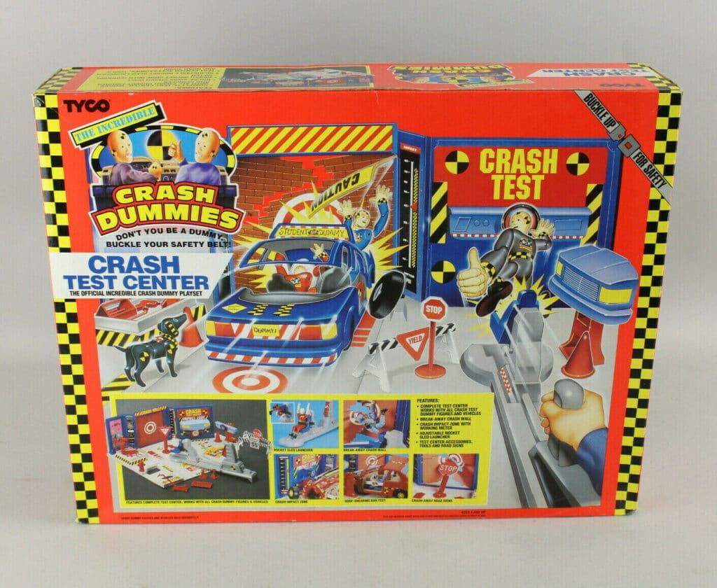 Tyco's The Incredible Crash Dummies Crash Test Center (1991)