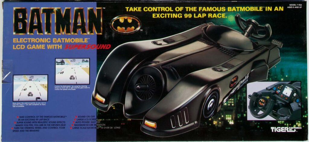 Batman Electronic Batmobile LCD Game with Supersound