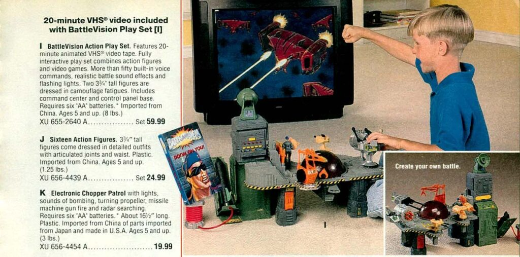 Battlevision Action Play Set