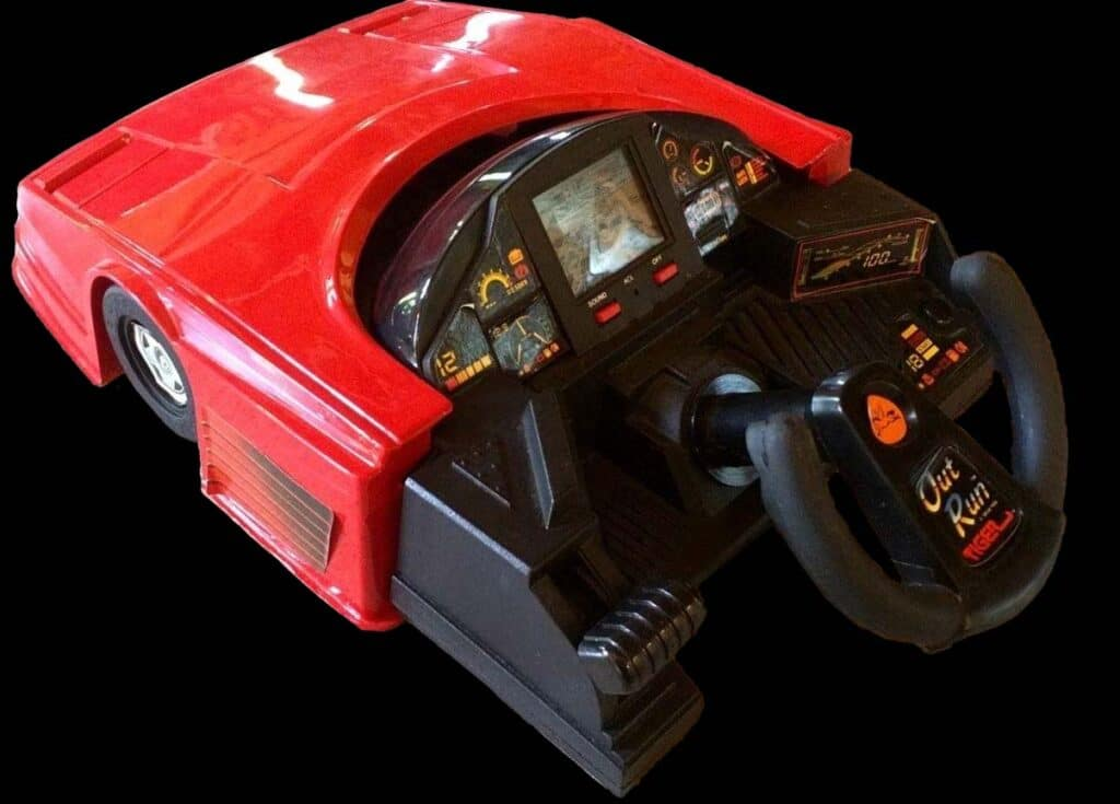 Tabletop Outrun LCD Game