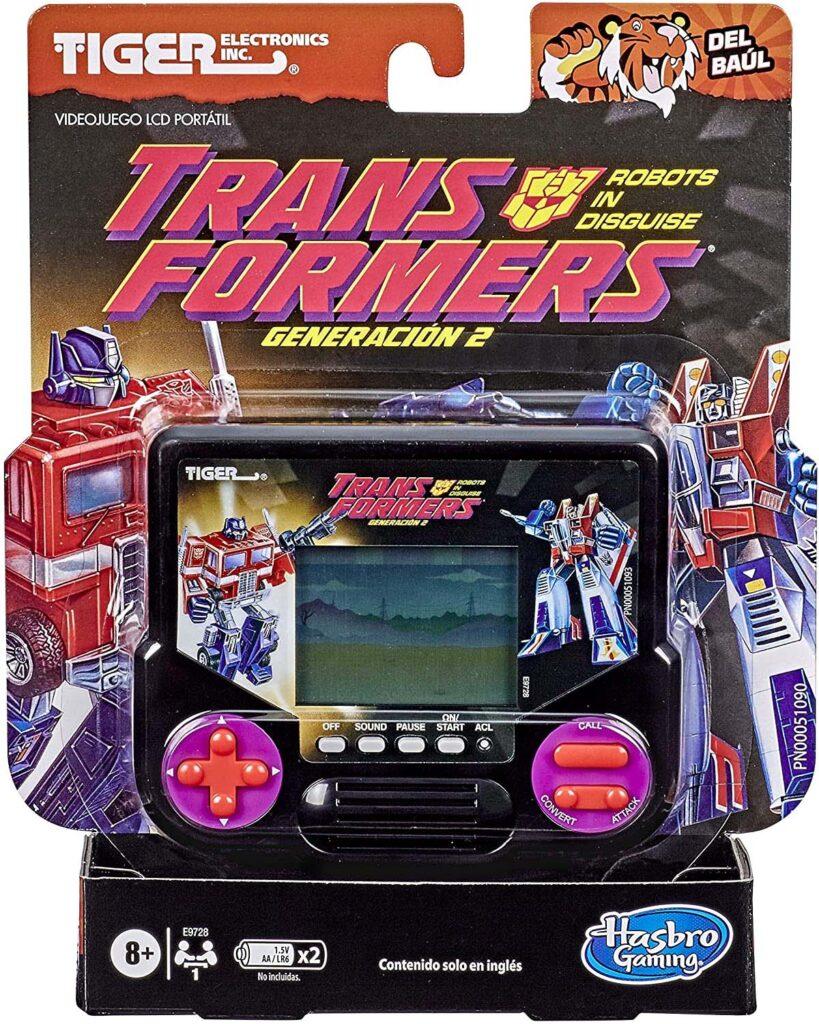 Hasbro Gaming Tiger Electronics Transformers LCD handheld game