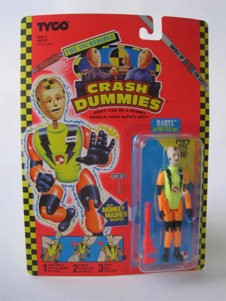 Tyco's The Incredible Crash Dummies Daryl in Pro-Tek Suit (1992)