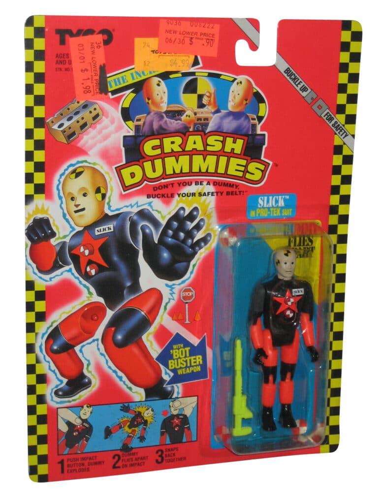 Tyco's The Incredible Crash Dummies Slick in Pro-Tek Suit (1992)