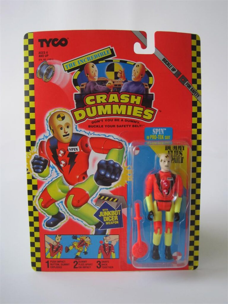 Tyco's The Incredible Crash Dummies Spin in Pro-Tek Suit (1992)