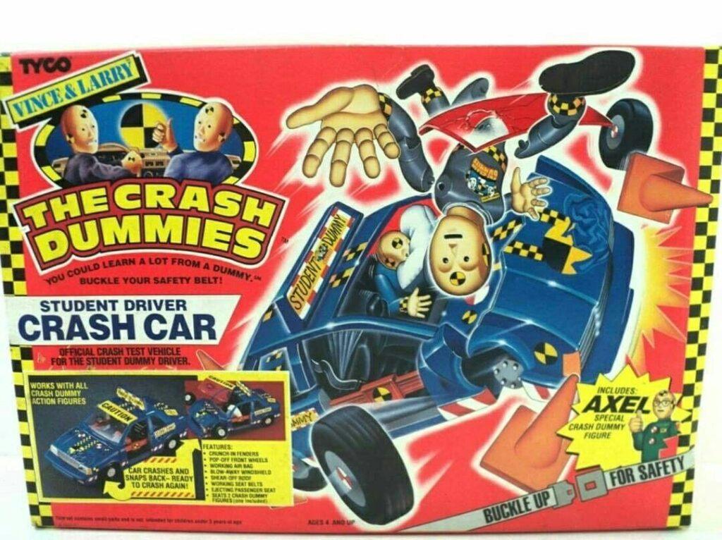 Tyco's Vince & Larry: The Crash Dummies Student Driver Stunt Car (1991)