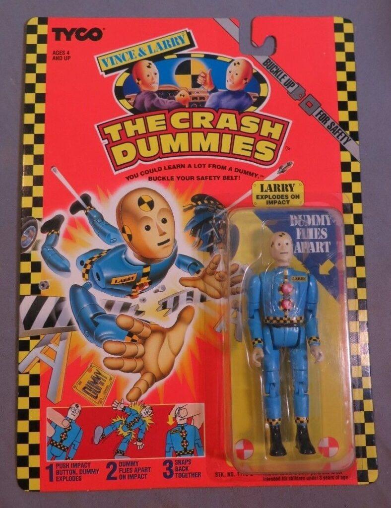 Tyco's Vince & Larry: The Crash Dummies Larry (1991)