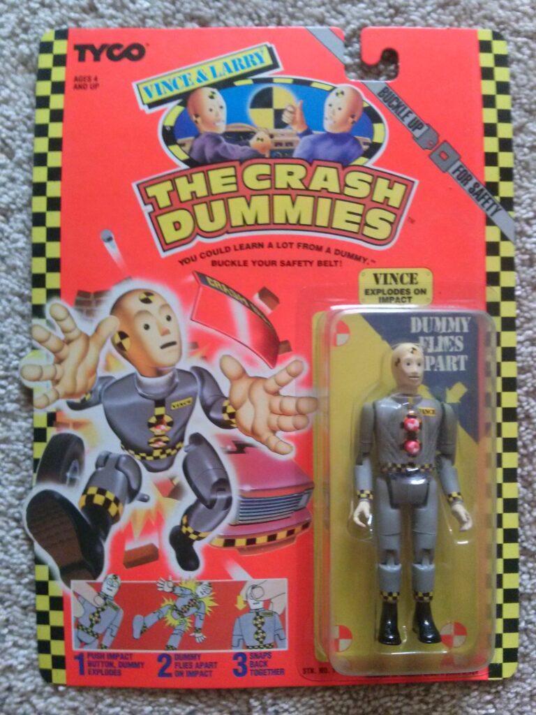 Tyco's Vince & Larry: The Crash Dummies Vince (1991)