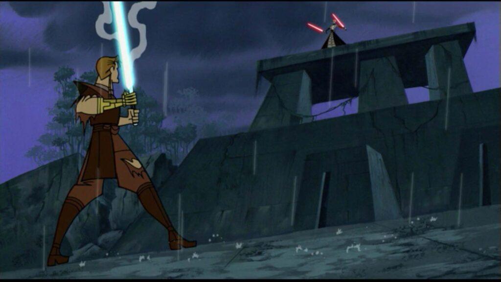Genndy Tartakovsky's 2D Star Wars: Clone Wars Animated Series