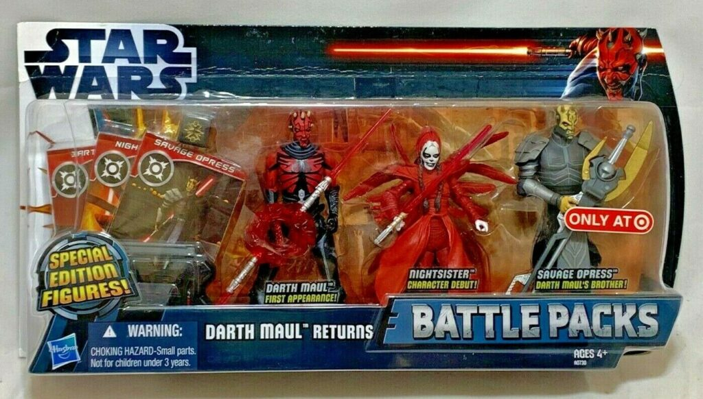 Hasbro's The Clone Wars Darth Maul Returns Battle Pack (2012)