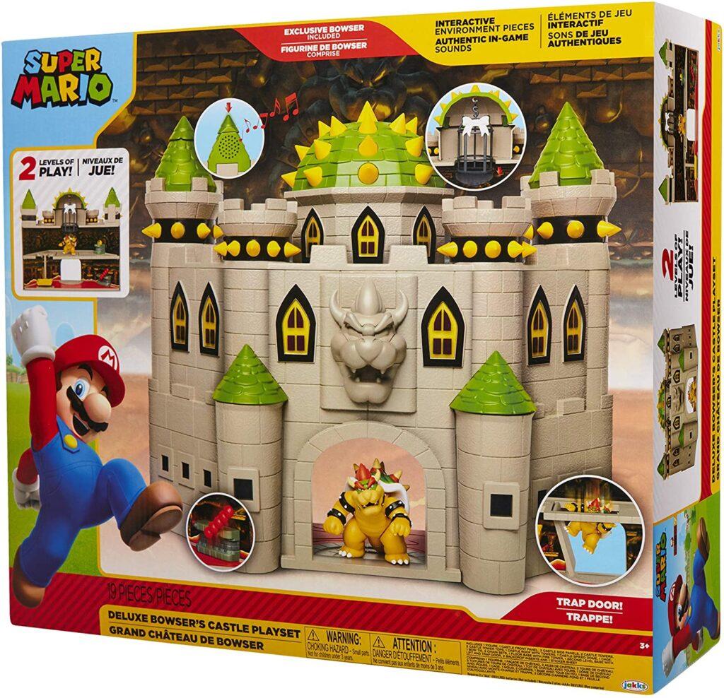 Jakks' Super Mario - Deluxe Bowser's Castle Playset (2019)