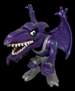 Mattel 1996 Extreme Dinosaurs Purple Bullseye