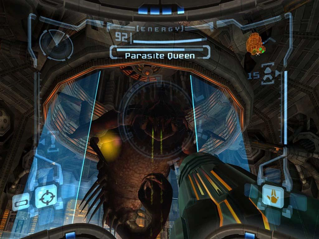 Parasite Queen from Metroid Prime