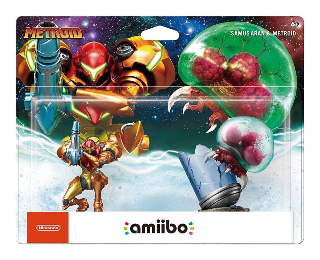 Nintendo's Samus Aran and Metroid 2-Pack Amiibos (2017)