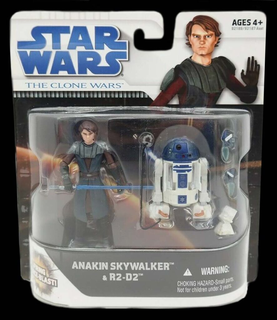Hasbro's The Clone Wars Anakin Skywalker with R2D2 (2010)