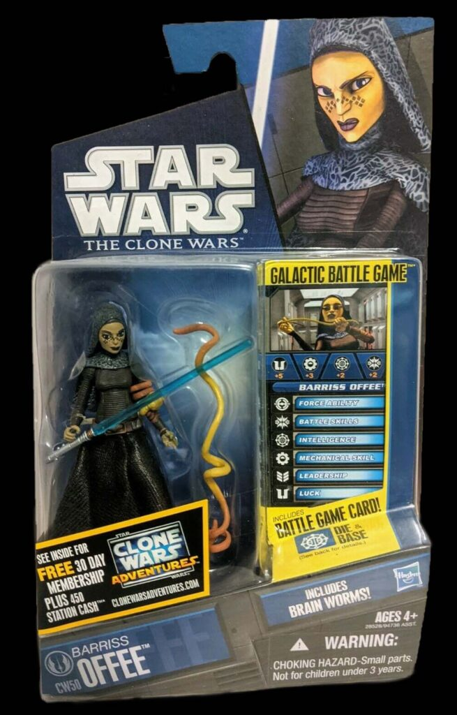 Hasbro's The Clone Wars Barriss Offee (2008)