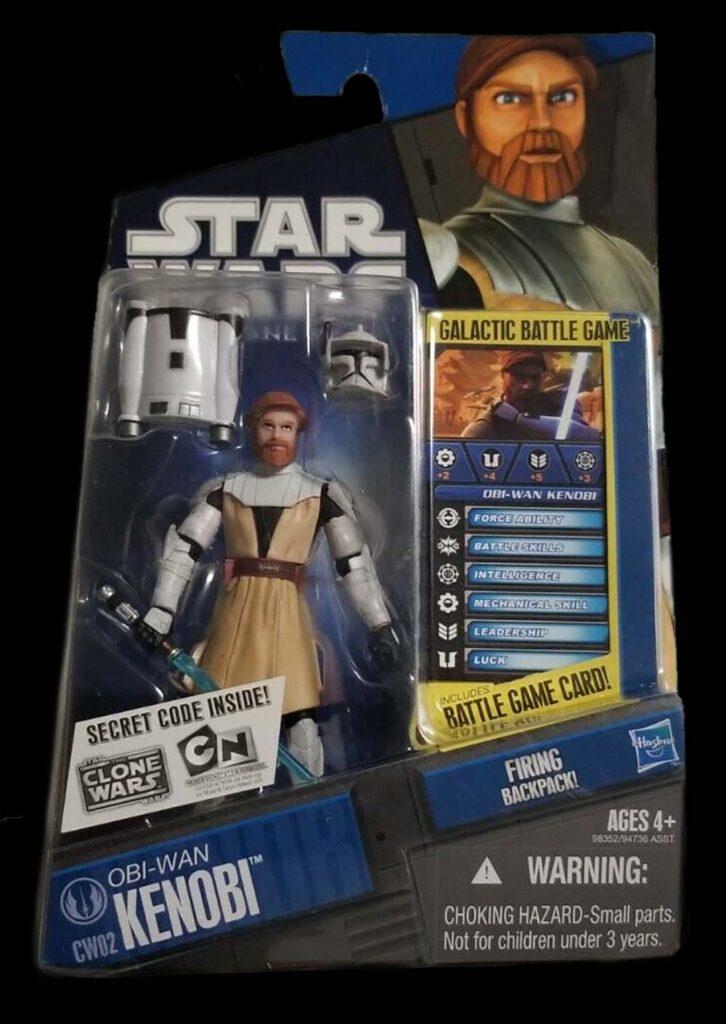 Hasbro's The Clone Wars Obi-Wan Kenobi (2008)