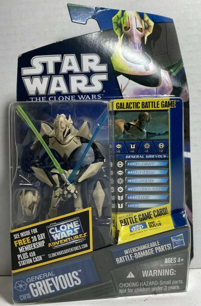 Hasbro's The Clone Wars General Grievous (2008)