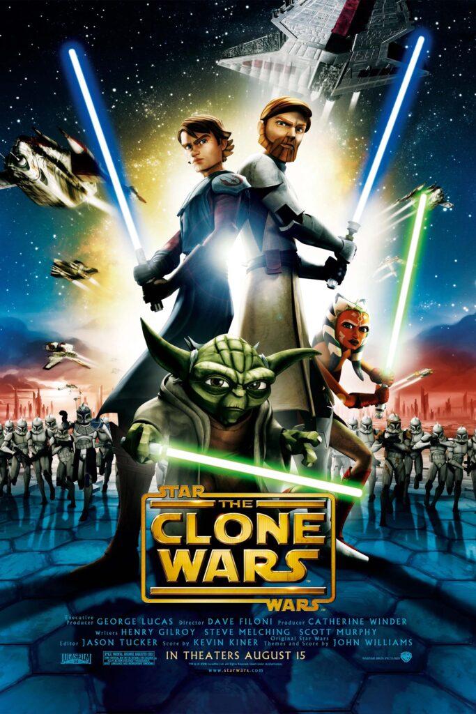 Star Wars: The Clone Wars movie poster