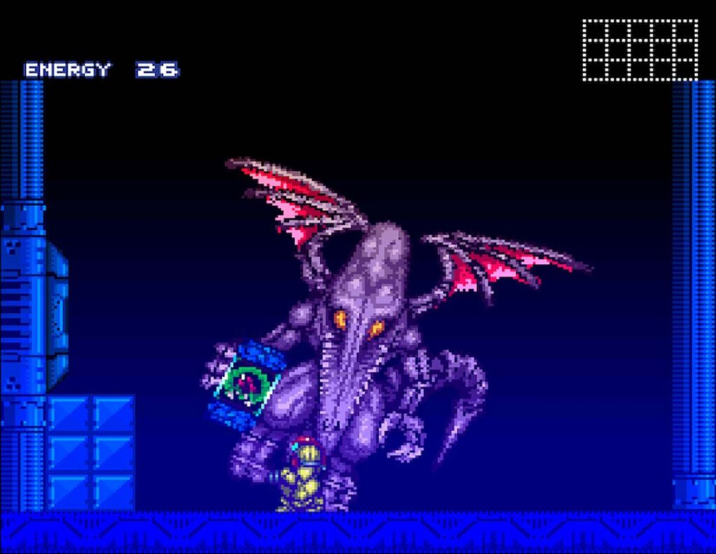 Ridley from Super Metroid