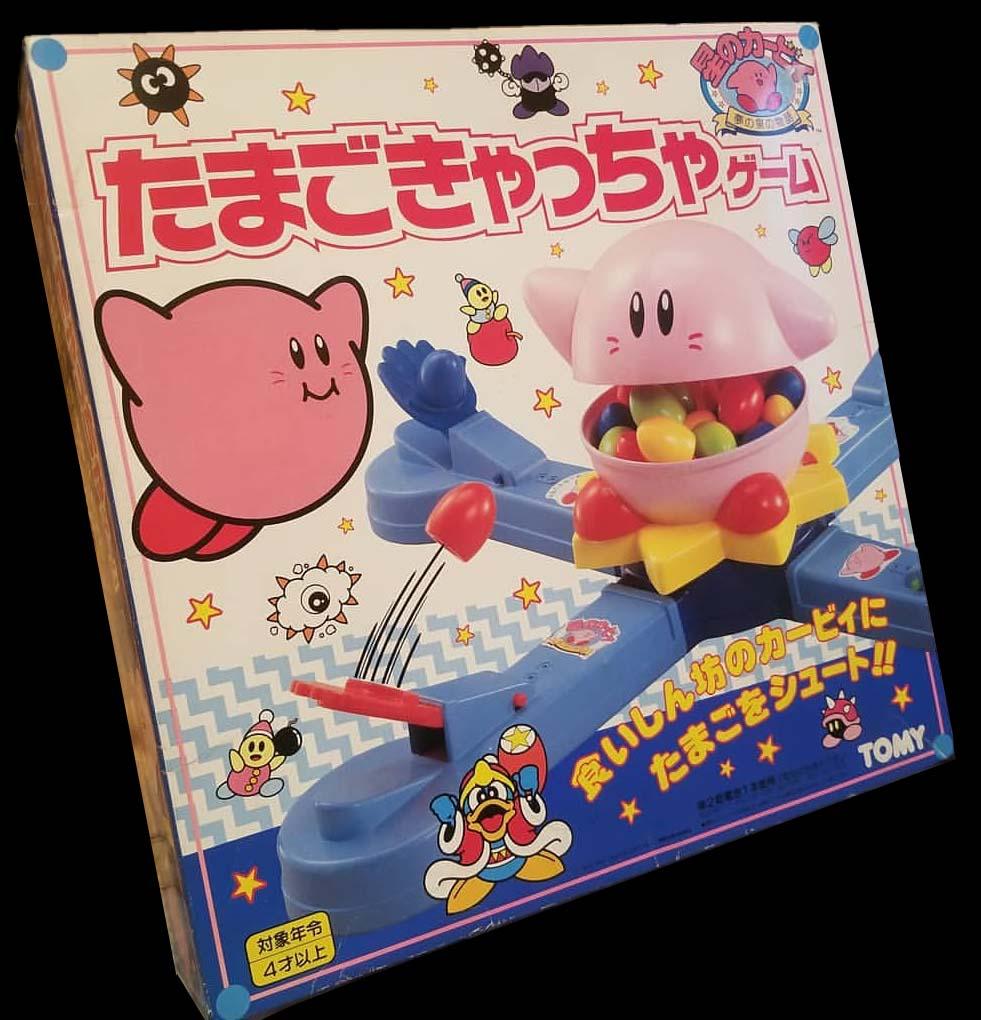 Tomy's Kirby Egg Catcher Game (1993)