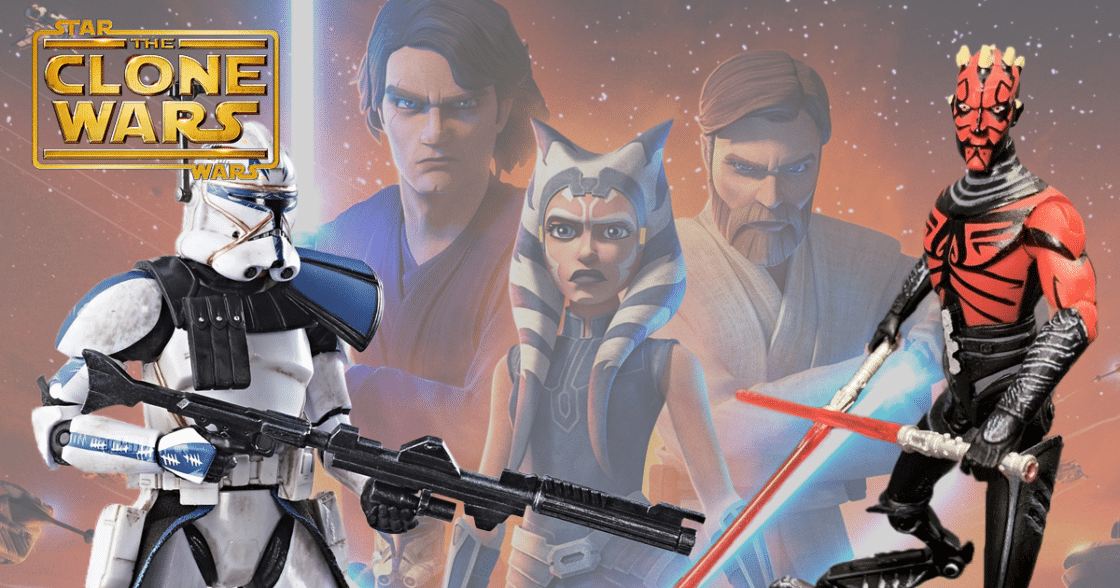 The Top Ten Star Wars: The Clone Wars Toys