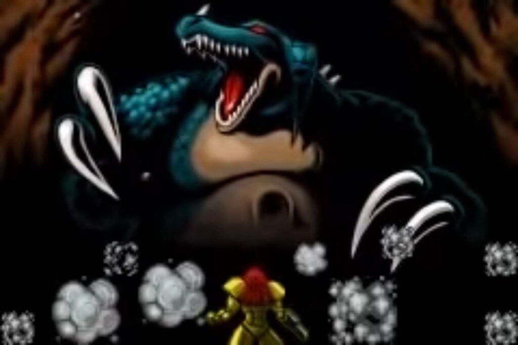 Kraid from Metroid: Zero Mission