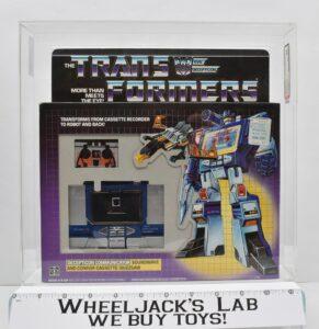 Hasbro 1984 Transformers Soundwave (AFA 85)