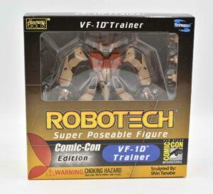 2002 Comic Con Exclusive Toynami Robotech Super Poseable VF-1D