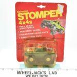 Schaper Toys 1983 Stomper 4x4 Datsun Green Truck